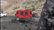 Hummer H1 in the mud mudding Azusa Canyon Ohv off Road Hd