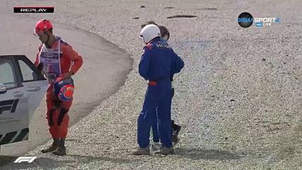 Зловеща катастрофа във Формула 3 с щастлив финал