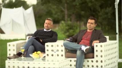 Иво и Пламен в къщата на съдиите - X Factor (14.10.2014)