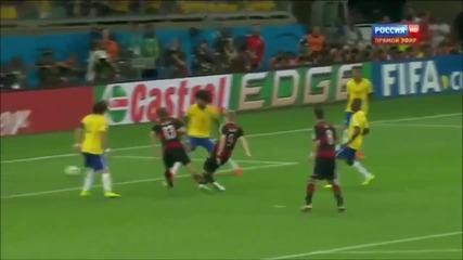 Бразилия — Германия 1-7