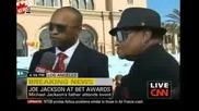 Майкъл Джексън - баща Джо Jackon - Bet награди 2009 Cnn Интервю