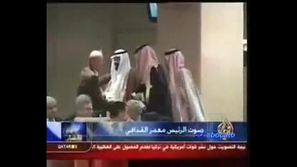 Муамар Кадафи разкритикува краля на Саудитска арабия