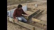 Как се строи къща със сламени бали (част 1)