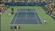 Roger Federer - udar mejdu krakata sre6tu Dabul