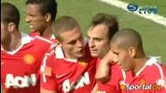Челси - Ман. Юнайтед 1:3 - с гол на Д. Бербатов (all goals)