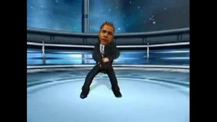Лудакрис рапира за Барак Обама!