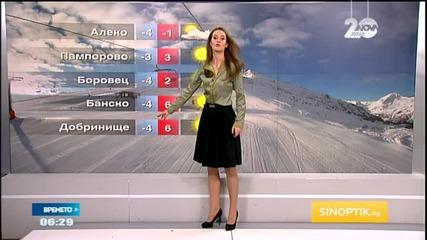 Прогноза за времето (15.01.2015 - сутрешна)