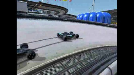 Trackmania Nations Forever: three times Bounty