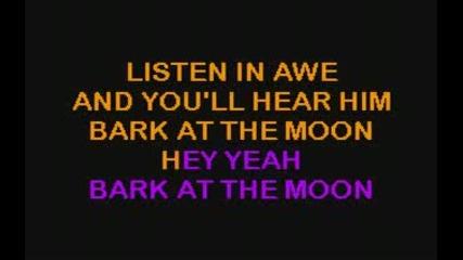 Ozzy Osbourne Bark at the moon - karaoke