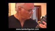 Ben Bolt - Bourree in Bm for Violin Bach