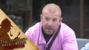 Динко разказва на Коцето и Фънки какво е Петльовден - Big Brother: Most Wanted