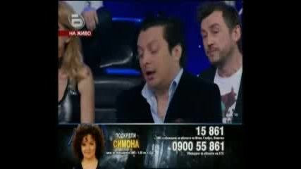 Music Idol 3 - 21.04.09г. - Концерта на Застрашените - Симона Статева