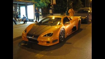 Богаташ кара най - мощната кола в света по улиците на Варна
