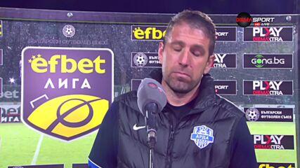 Чиликов: Имам забележки, надявах се да обърнем Берое