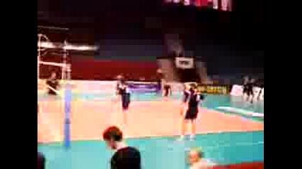 тренировка на националния отбор по волейбол - 28 юни 2011г., Варна /2 част/