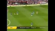 08.05.2011 Манчестър Юнайтед - Челси 1-0 Гол на Чичарито ' Първо Полувреме'