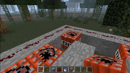 Minecraft tnt jump