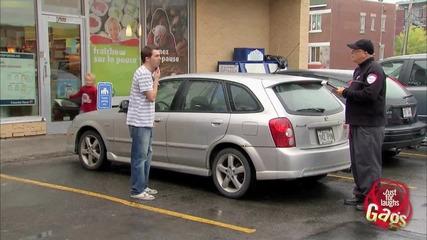 Паркинг само за семейства - скрита камера