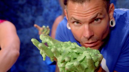 Jeff Hardy and Asuka create DIY slime for SummerSlam