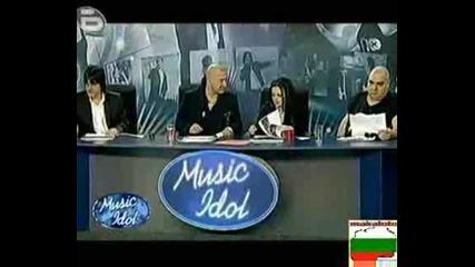 Music Idol 3 - Забравих Си Текста