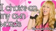 Hannah Montana - Ordinary Girl - Preview (lyrics On Screen) Hd (bg subs)