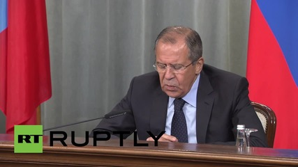 Russia: Lavrov reaffirms will for united Ukraine, with Donbass special status
