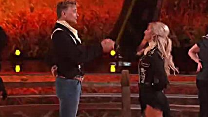 John Schneider and Emma Slater