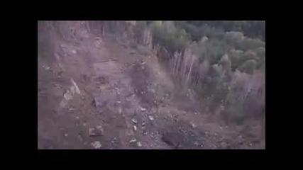 Първо видео от мястото на взрива в Горни Лом