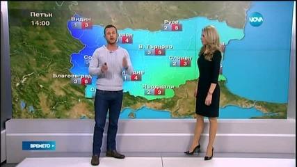 Прогноза за времето (05.03.2015 - централна)
