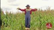 Плашилото хвърля царевица - Смях