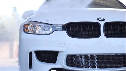 Красота! Бяло Bmw f30