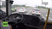 China: Take a ride on board one of Yutong's self-driving buses