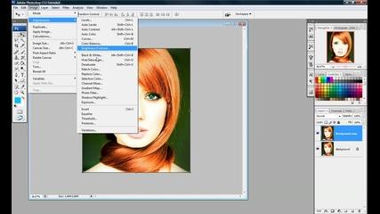 Photoshop - от снимка в скица