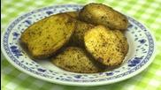 """""""Надупени"""" картофи"""