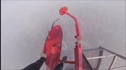 Изглед от върха на Шанхайската кула (hd)