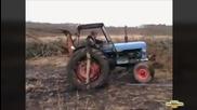 Компилация успехи с трактори - Monthlyfails