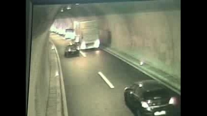 Адска Катастрофа В Тунел