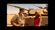 M1a1 Abrams Tank and a Hot girl!