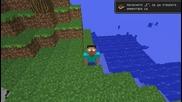 Minecraft-herobrine Stories-епизод 1 Herobrine!!!wtf!!!