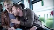 Никога не спете в автобус и то до жена :)
