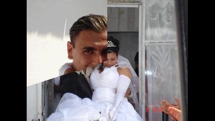Snimki ot svatbata na Bavareca i Rosica
