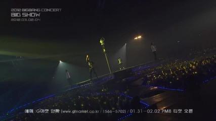 B I G B A N G - Big Show 2012 Spot [ H D ]