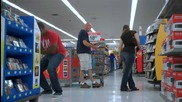 Пушък в супермаркета 2 - смях