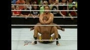 Alexander Rusev machka Big E Langston - Wwe Raw 23 6 14 ... - Vbox7
