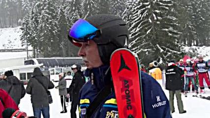 Марио Мат и Марк Жирардели откриха зимния сезон в Банско