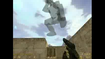 Counter - Strike PR0_TeAm Праят Jump на de_dust2