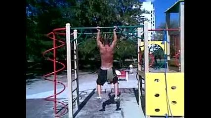 Street fitness - супер як хват за набирания !