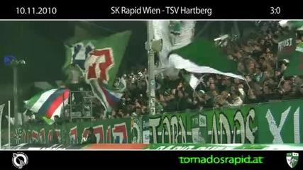 10.11.2010 Block West im Cup daheim gegen Hartberg