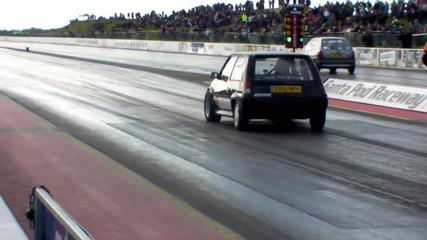 Renault 5 Gt Turbo 10.1@146mph santapod