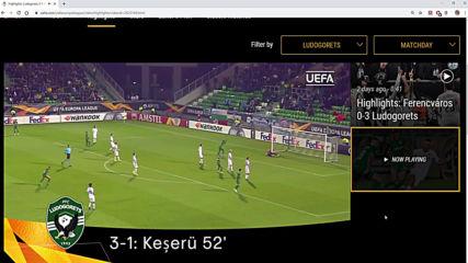 Лудогорец 5:1 Цска Москва | Ludogorets 5-1 Cska Moskva Лига Европа 2019/20
